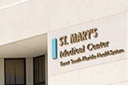 Signage on the outside of St Marys Medical Center