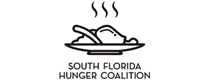 South Florida Hunger Coalition teaming with Living Hungry Logo