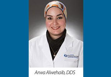 Head shot photo Dentist Arwa Alwehaib