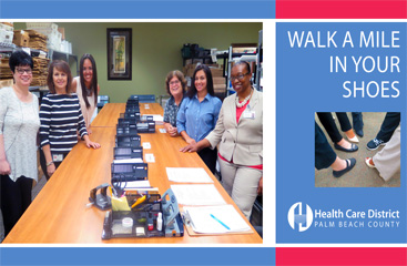 September 2017 Walk A Mile In Your Shoes