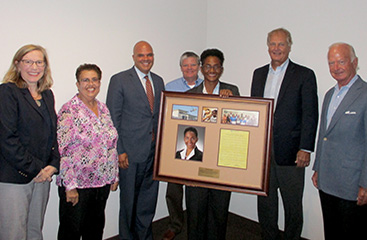 Commissioner Angeleta Gray Recognized for Board service