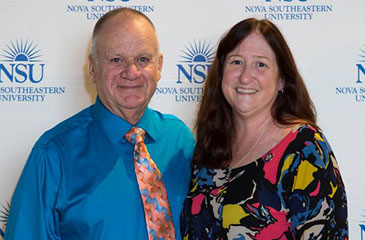Fred and Hyla Fritsch at the NSU Alumni Awards