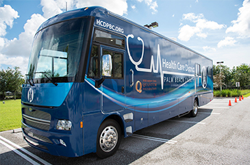 Blue Health Care Mobile Unit