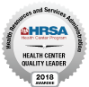 H R S A Health Center Quality Leader badge