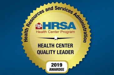 HRSA Quality Award Badge