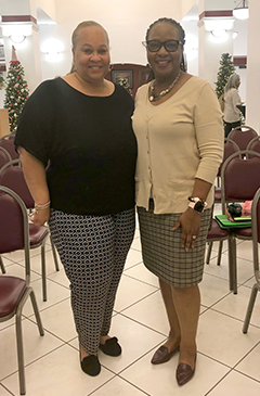 Image of Tammy Jackson-Moore and Janet Moreland