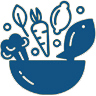 Healthy Foods Icon - Image of health foods