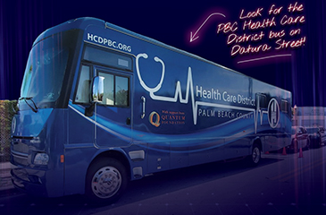 Image of HCD Mobile Unit Free Vaccine Flyer